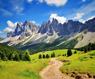 Road in Dolomites, Italy Stock Photo