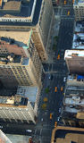 Road down below, Manhattan, New York Royalty Free Stock Photo