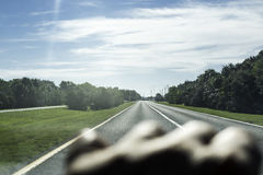 On The Road Stock Photography
