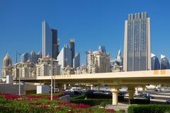 Road in Dubai Royalty Free Stock Images