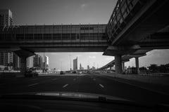 Road of Dubai, UAE Stock Photo