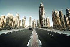 Road in Dubai Royalty Free Stock Image
