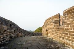 road in eastern Jinshanling Great Wall Royalty Free Stock Photos
