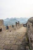 road in eastern Jinshanling Great Wall Royalty Free Stock Image