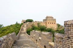 road in eastern Jinshanling Great Wall Stock Photos