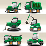 Road equipment. Specialized heavy lorry machine Royalty Free Stock Photography