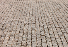 The road from exactly stacked stones Royalty Free Stock Photo