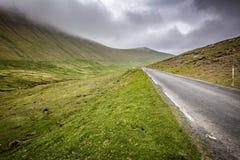 Road in faroe island