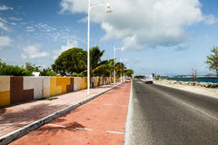 Road from Fish market area Royalty Free Stock Image