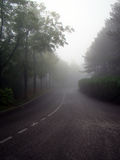 Road in the fog Royalty Free Stock Photos