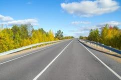 Autumn bright landscape. Stock Photo