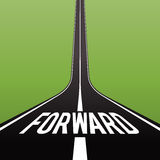 Road Forward Concept Royalty Free Stock Images