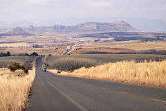 On the road, Free State, South Africa Stock Images