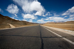 Road of Friendship in Tibet - Going to Kathmandu Royalty Free Stock Images