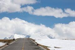 Road of Friendship in Tibet - Going to Kathmandu Royalty Free Stock Image