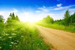 Free Road From Sand Royalty Free Stock Image - 9208286
