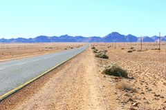 Road future horizon success, Africa Royalty Free Stock Photo