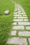 Road in garden Royalty Free Stock Images