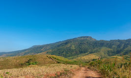 Road go to Mountain Stock Photography