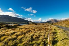 Beautiful Connemara in County Galway, Ireland Royalty Free Stock Photos