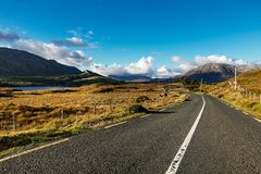 Beautiful Connemara in County Galway, Ireland Royalty Free Stock Image