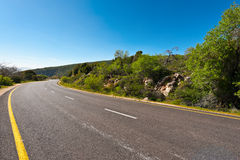 Road in the Golan Stock Photography