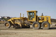 Road Grader Royalty Free Stock Photography