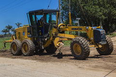 Road Grader Earthworks Civil Stock Images