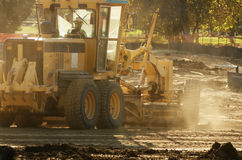Road Grader Stock Photography