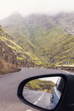 On the road - Gran Canaria Island. Gran Canaria, Canary Islands, Spain Royalty Free Stock Images