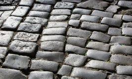 Road granite stones Stock Image