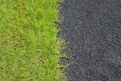 Road and grass Royalty Free Stock Photo