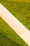road  in  grasses Royalty Free Stock Image