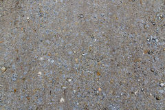 Road Gravel - Grey abstract texture. Multiple gravel on the ground multiple colors sizes Royalty Free Stock Image
