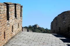 On the road, great wall of china Stock Images