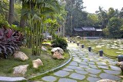 The road of green natural environment Royalty Free Stock Image