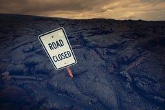 Road on Hawaii Stock Photo
