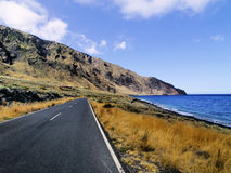 Road on Hierro Stock Images