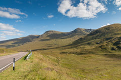 Road through the Highlands Stock Photography