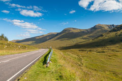 Road through the Highlands Stock Photo