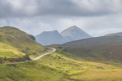 Road into the Highlands LT Royalty Free Stock Images