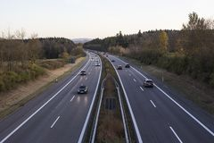 Road, Highway, Controlled Access Highway, Lane Stock Photography