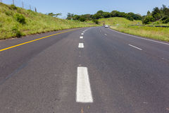 Road Highway Painted Markings Royalty Free Stock Images