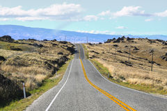 Road on The Hill Royalty Free Stock Photography
