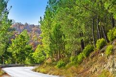 Road between Hills Stock Photos