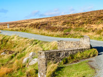 The road in the hills of Ireland Royalty Free Stock Photos