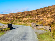 The road in the hills of Ireland Stock Photography