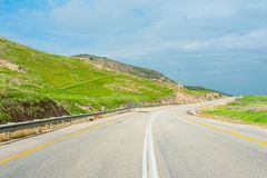 Road in the hills Royalty Free Stock Photo