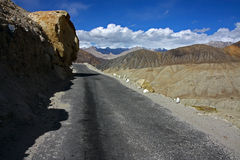 Road  in himalaya Royalty Free Stock Photo