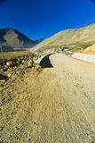 Road in Himalaya mountains Royalty Free Stock Image